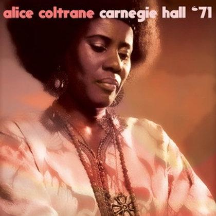 "Alice Coltrane, ""Carnegie '71"""