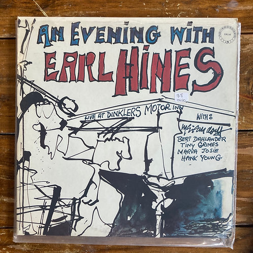 """""""An Evening with Earl Hines"""" USED"""