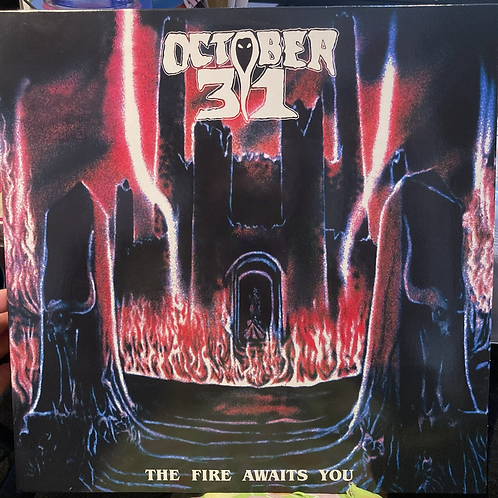 """October 31, """"The Fire Awaits You"""" USED"""