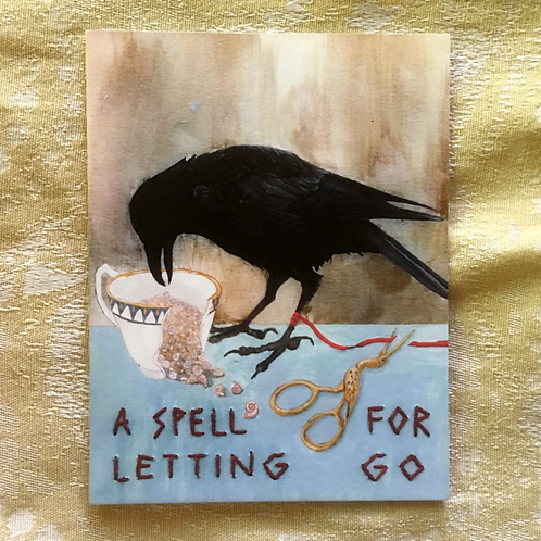 A Spell for Letting Go Card