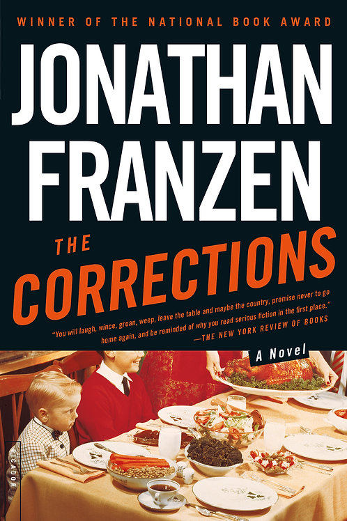 The Corrections by Jonathan Franzen (used)