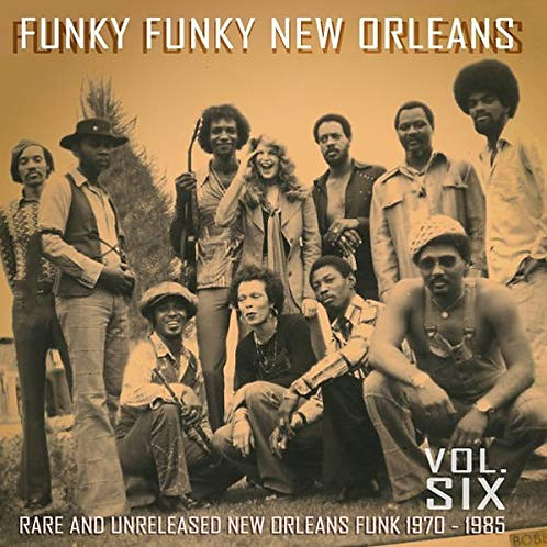 "Various Artists, ""Funky Funky New Orleans"""