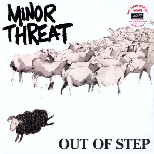 """Minor Threat, """"Out of Step"""""""