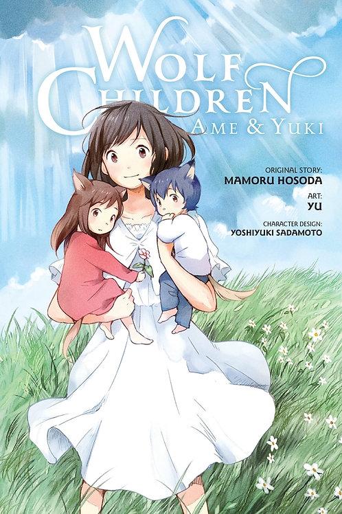 Wolf Children: Ame & Yuki by Mamoru Hosoda (used)