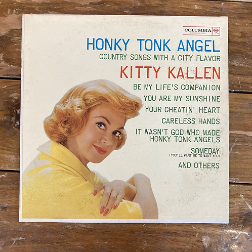 "Kitty Kallen, ""Honky Tonk Angel"" USED"