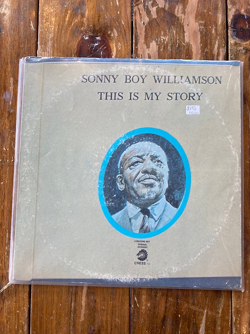 """Sonny Boy Williamson, """"This Is My Story"""" USED"""