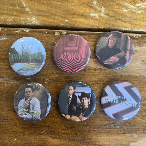 Twin Peaks Button Pack