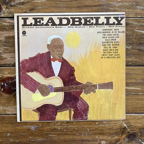 "Leadbelly, ""Huddie Ledbetter's Best"" USED"