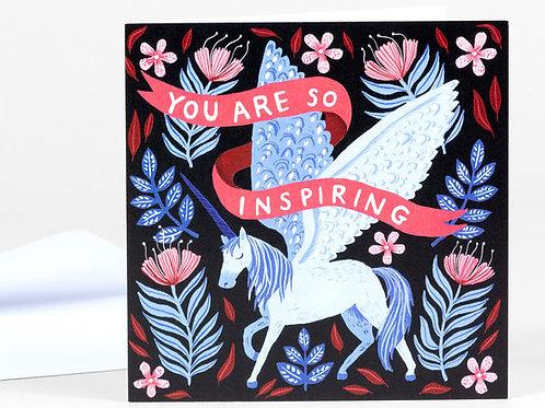 You Are So Inspiring Card