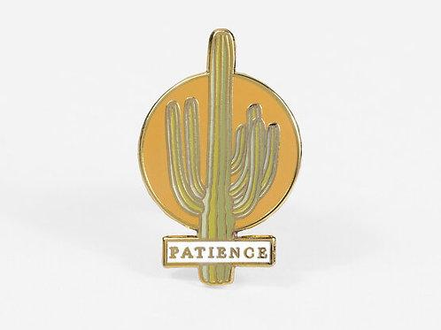 Patience Enamel Pin
