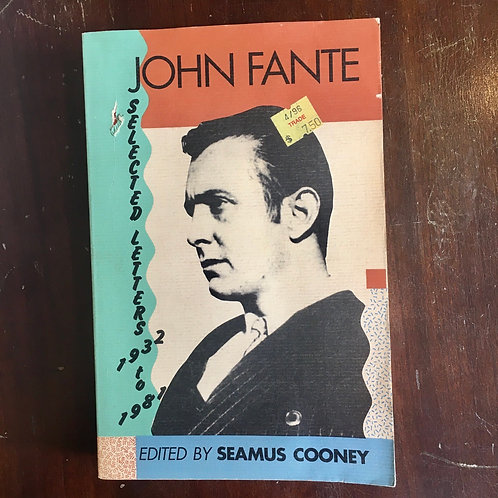 John Fante: Selected Letters 1932-1981 (used)