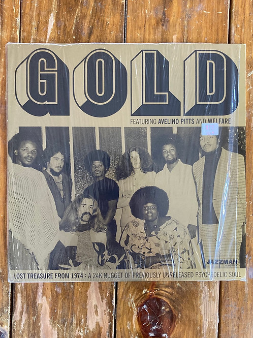 """GOLD feat. Avelino Pitts & Welfare, """"Lost Treasure From 1974: A 24K Nugget..."""