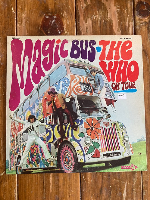 "The Who, ""Magic Bus on Tour"" USED"
