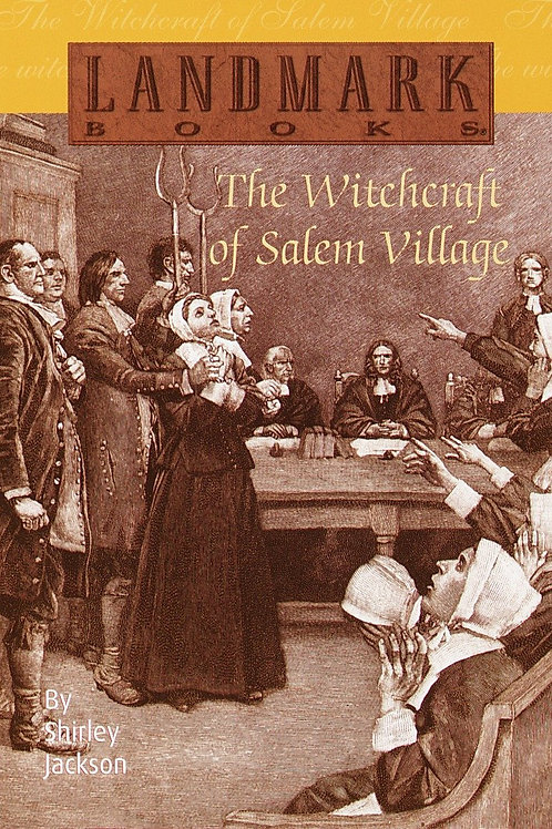 Witchcraft of Salem Village by Shirley Jackson (used)