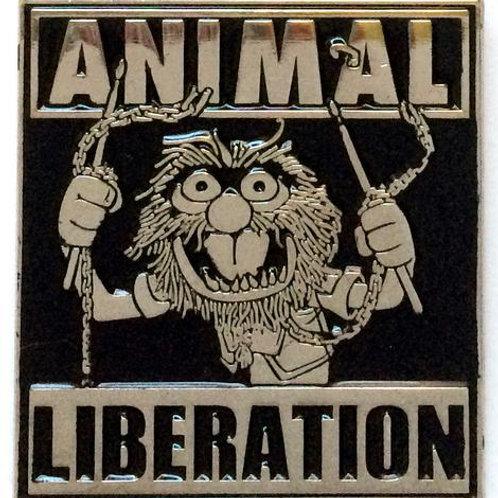Animal Liberation Pin