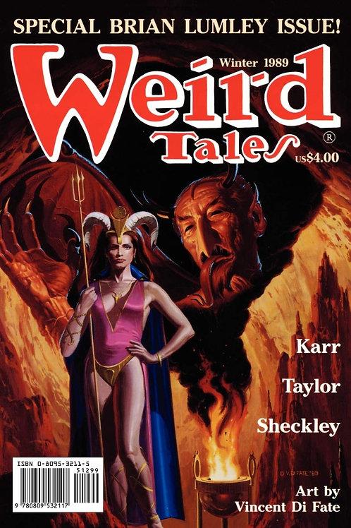 Weird Tales #295 (Winter 1989/1990)