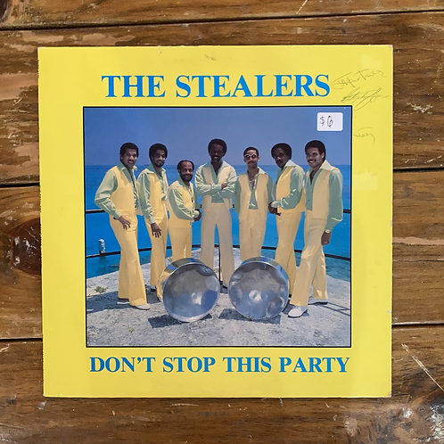"""The Stealers, """"Don't Stop This Party"""" USED"""