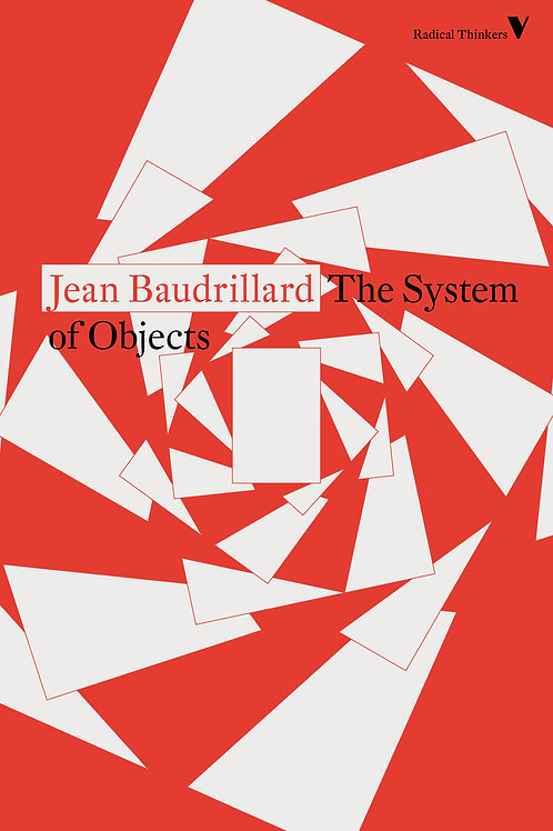 System of Objects by Jean Baudrillard