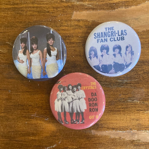 Girl Groups Button Pack