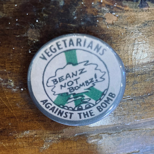 Vegetarians Against the Bomb Pin