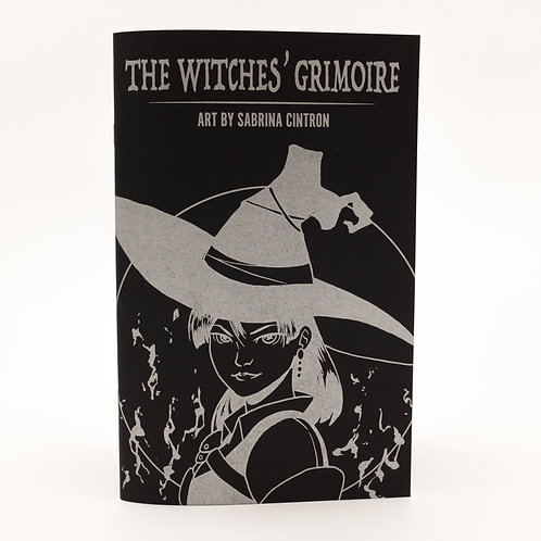 The Witches' Grimoire: Art By Sabrina Cintron