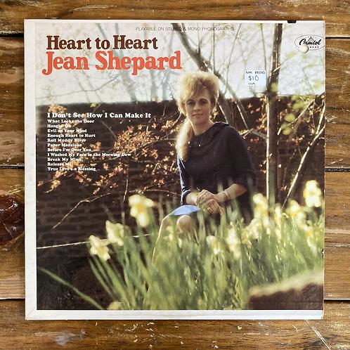 """Jean Shepard, """"Heart to Heart"""" USED"""