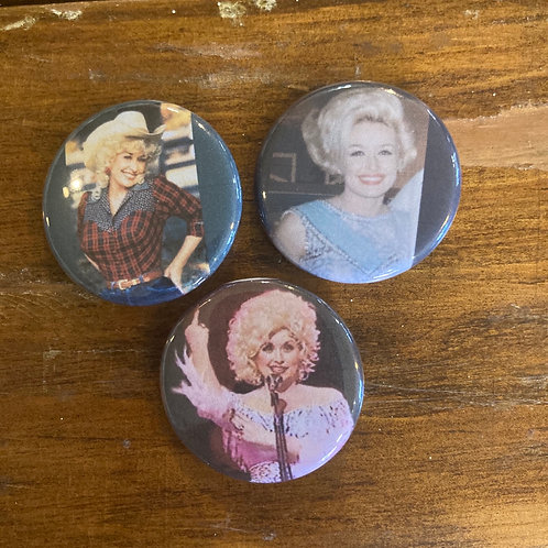 Dolly Parton Button Pack