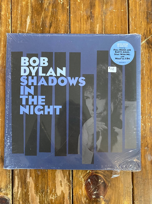 "Bob Dylan, ""Shadows in the Night"" SEALED"