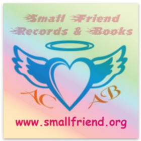 Holographic Small Friend sticker