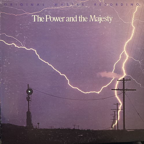"""Brad Miller, """"The Power and the Majesty"""" USED"""