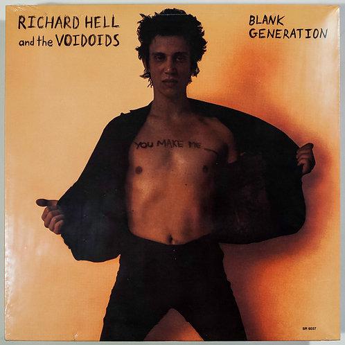 "Richard Hell & the Voidoids, ""Blank Generation"""
