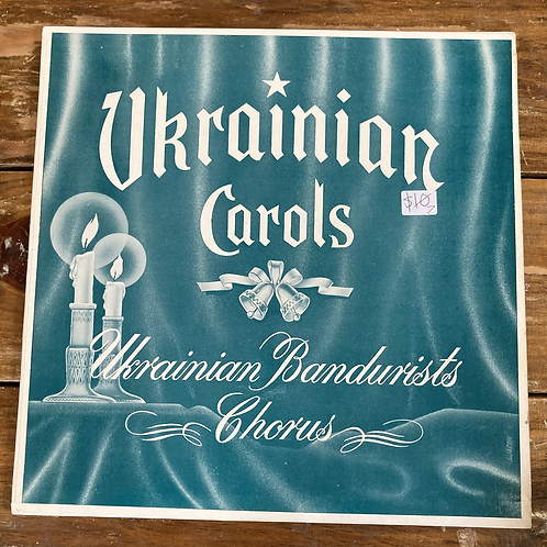 "Ukrainian Bandurists Chorus, ""Ukrainian Carols"" USED"