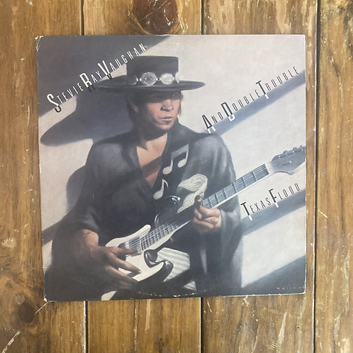 """Stevie Ray Vaughan & Double Trouble, """"Texas Flood"""" USED"""