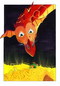 red dragons treasure