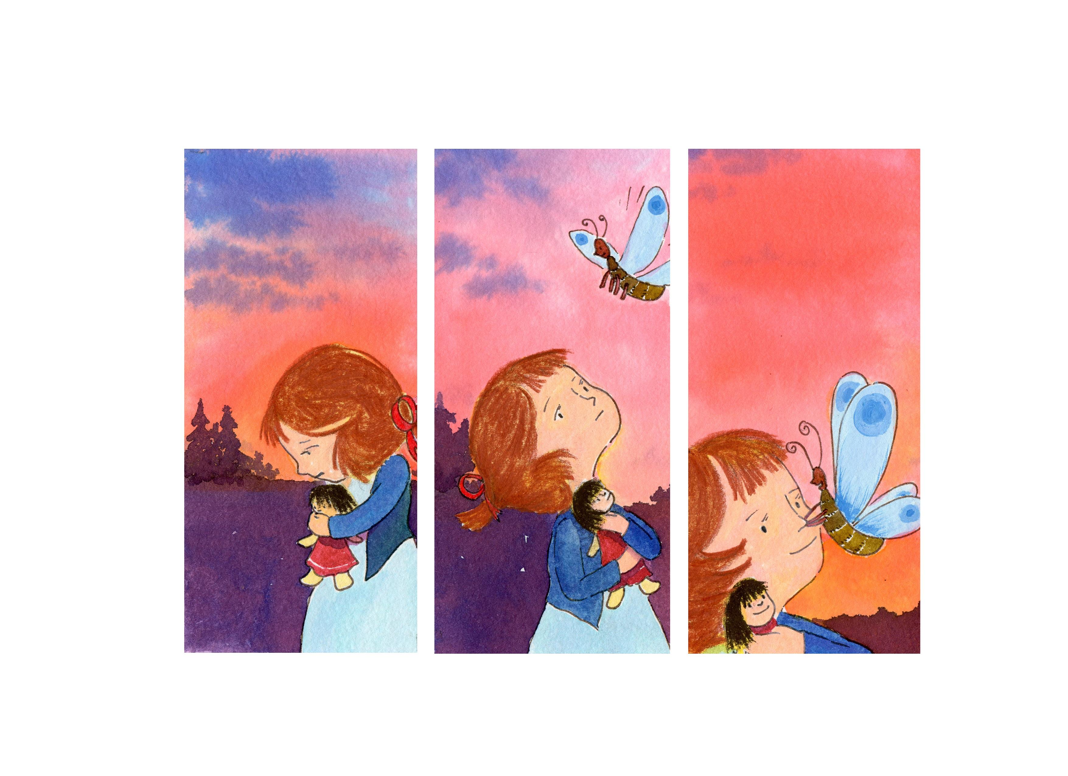 evening butterfly,