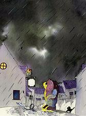 stormy weather, Troll!