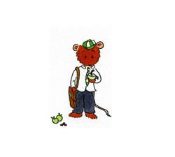 Rat with the teachers apple_