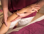 Foto Lymphdrainage Ödem Massage sanft