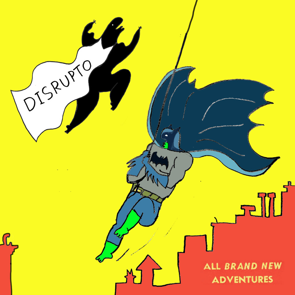 Batman DISRUPTO moment