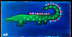 friendly alligator