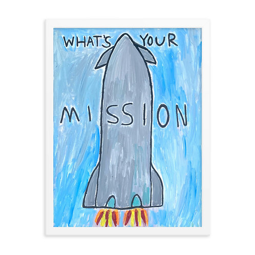 what's your mission