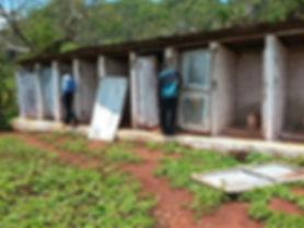 Toilettes de l'école
