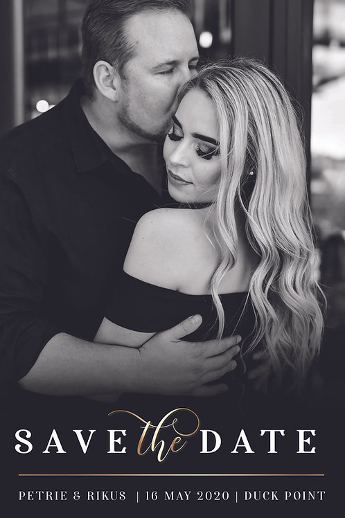 THE PETRIE SAVE THE DATE COLLECTION