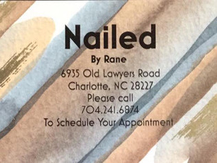 Pleased to introduce Nailed by Rane