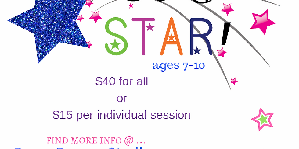 Be A Star : ages 7-10 (July 10) (1)