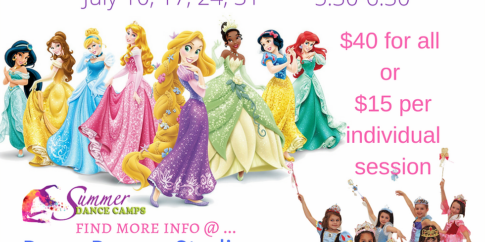 (All 4 classes for $40) Fantasy Fun Ages 3-7