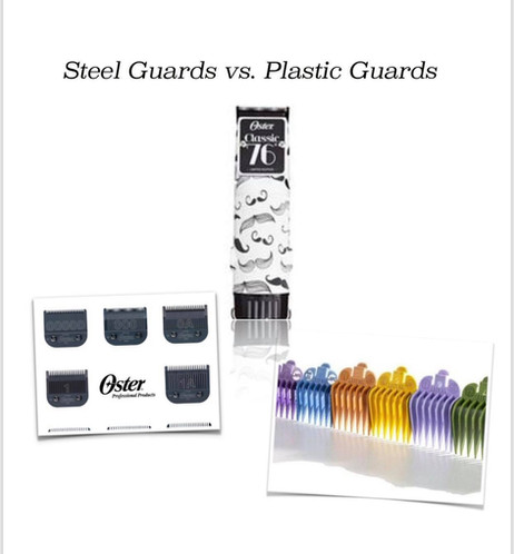 Why are the steel guards better then plastic?