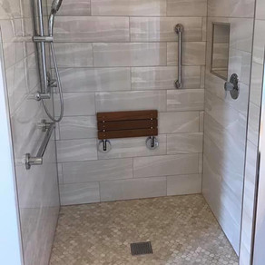We specialize in handicapped Shower renovations!