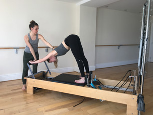 The Reformer at The Body Junction with dancer Amy Farrant
