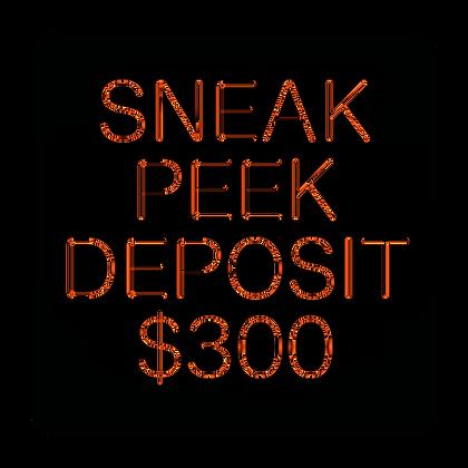 Deposit, Sneak Peek